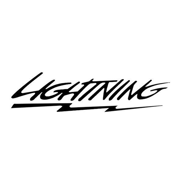 sideways lightning bolt car logos