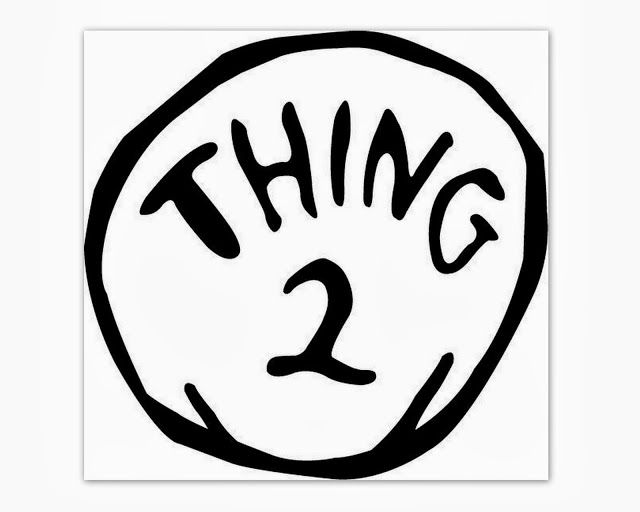 picture about Thing 1 and Thing 2 Printable Template named Issue 2 Trademarks
