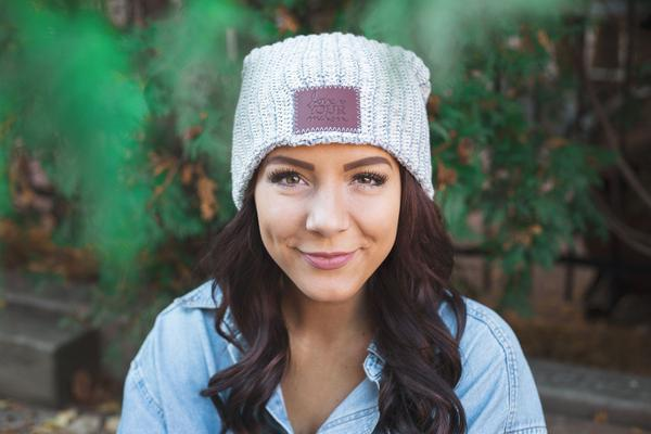 Love Your Melon Gray Speckled Beanie 3fb3099b8b9d