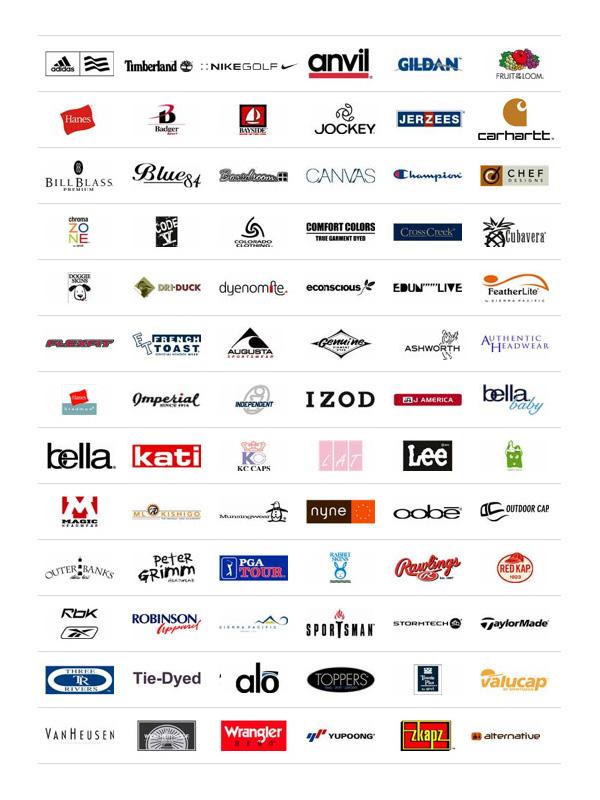 Apparel Logos