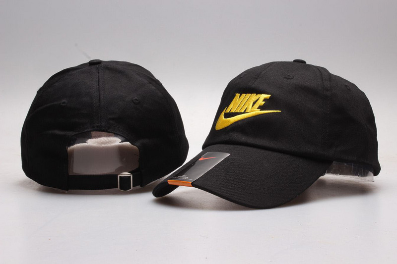New Nike Gold Logo Sports Adjustable Hat YP cheap sale 8f7283e2495