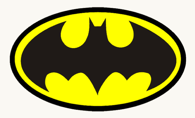 Batman Drawing Logos