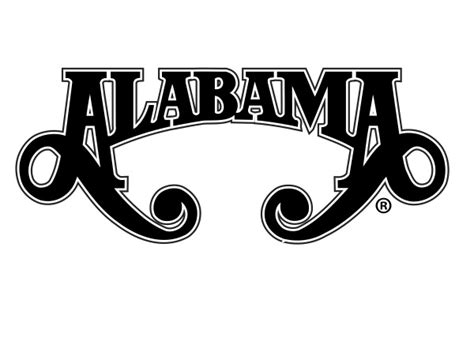 Alabama band Logos