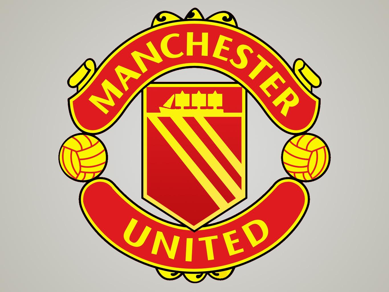 Man Utd Old Logos