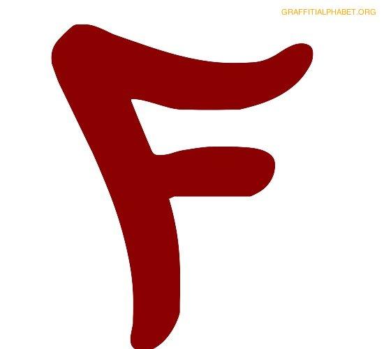 red f logos