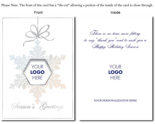 Corporate christmas cards with logos reheart Choice Image