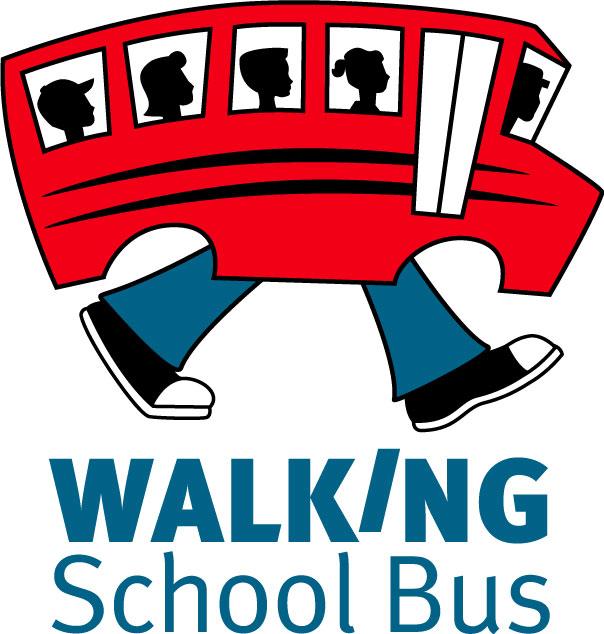 walking school bus logos rh logolynx com Walking Home Clip Art The Walking School Bus Logo