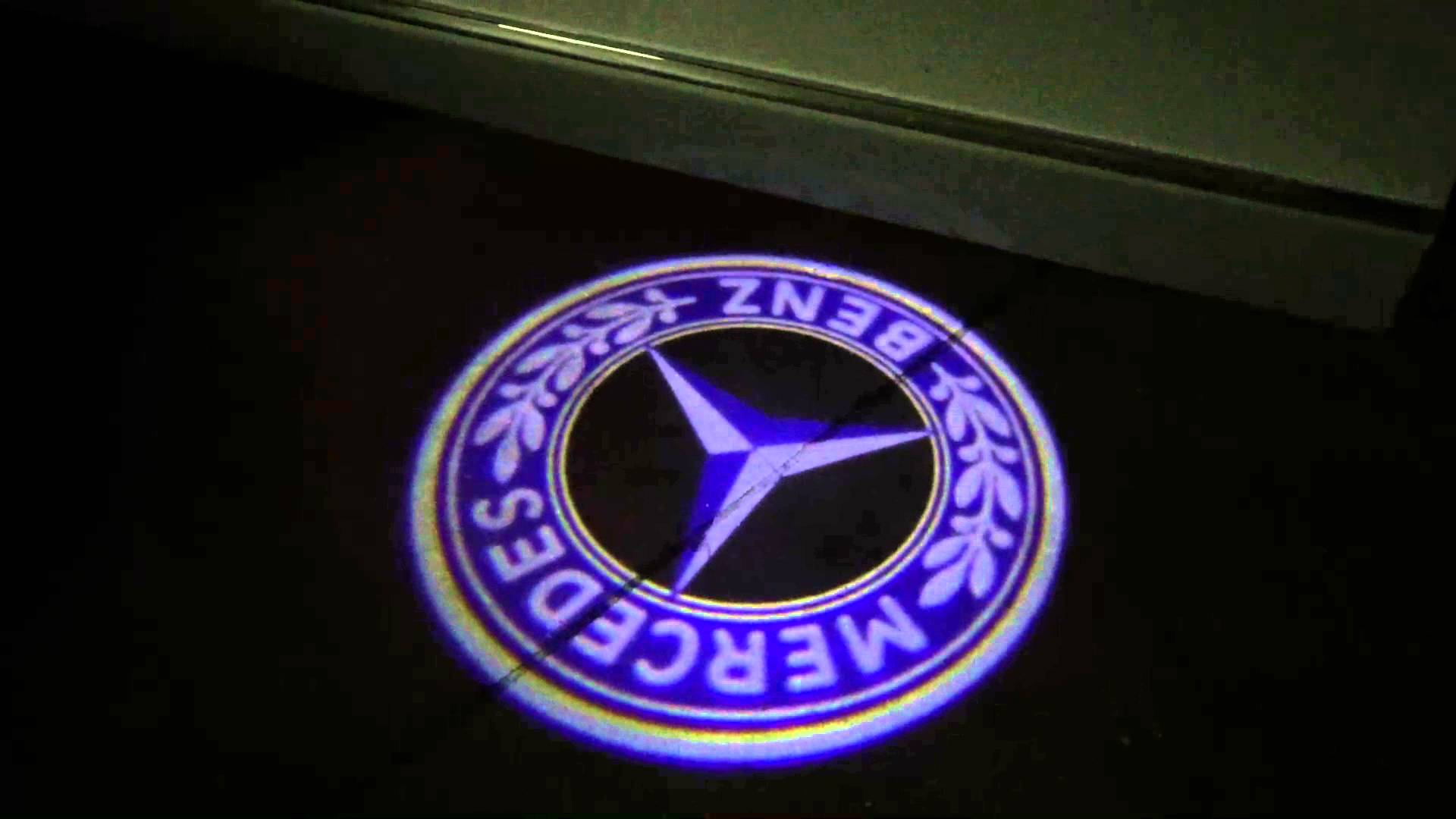 Mercedes Benz Light Up Logos