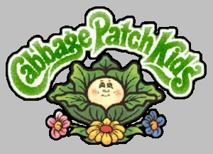 image regarding Cabbage Patch Logo Printable named Cabbage patch Emblems