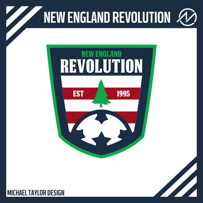 fb467234e Sports Logo Spot  New England Revolution