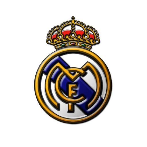 Real Madrid Gold Logo Png