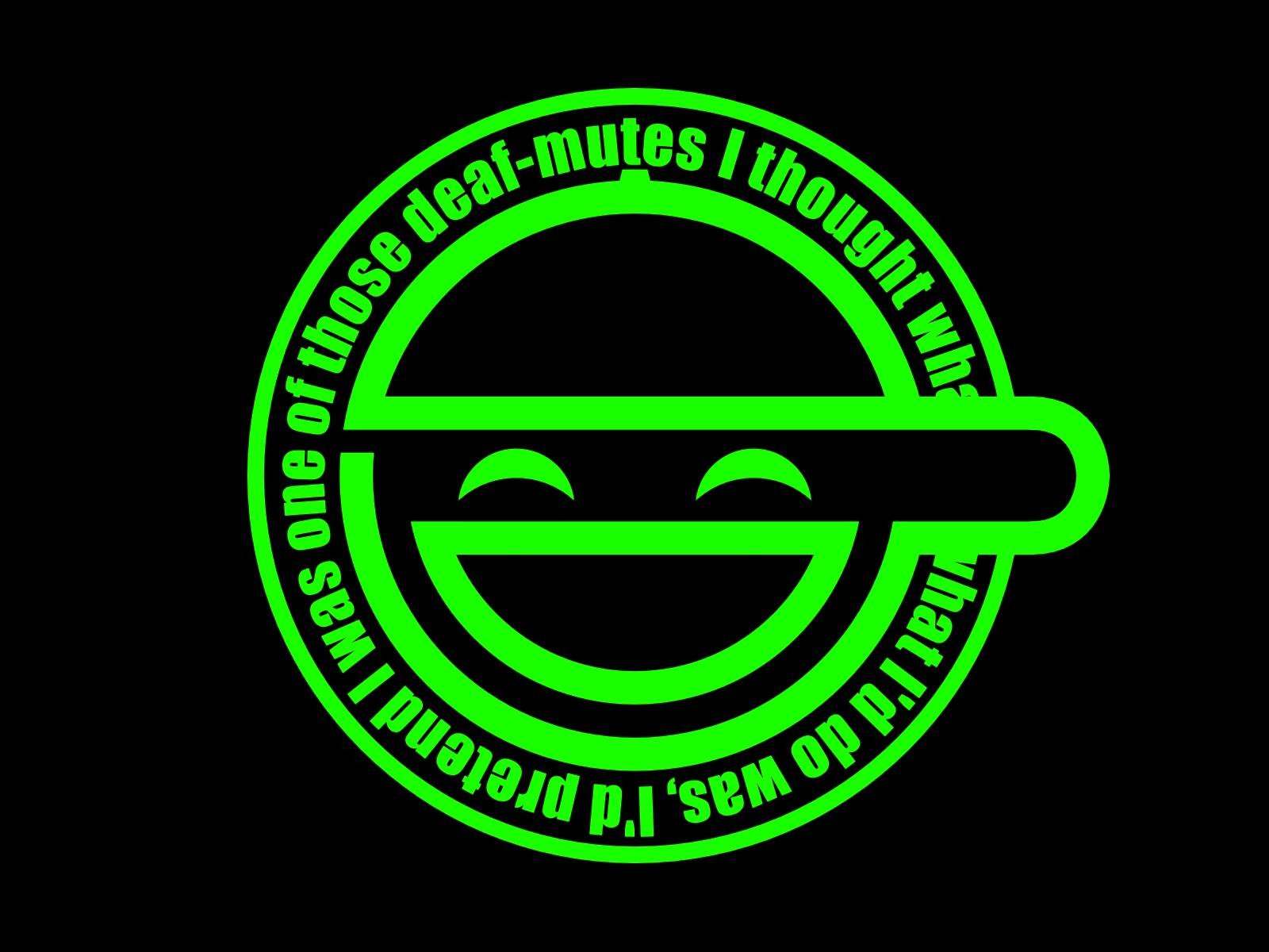 Laughing Man Logos