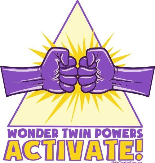 Wonder Twins Logos