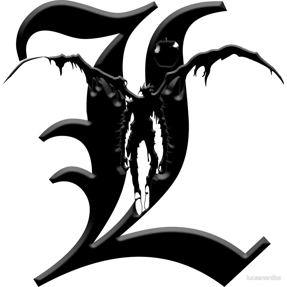 L Death Note Logos