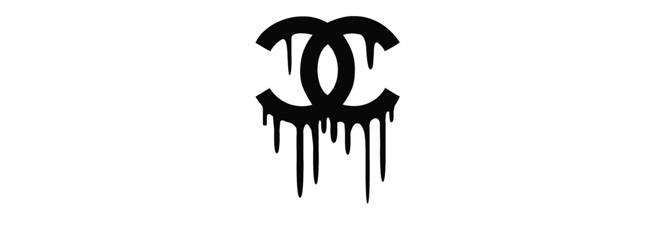 image about Printable Chanel Logo called Dripping chanel Trademarks