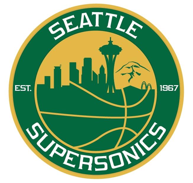 Seattle supersonics Logos 5cb3177e1625