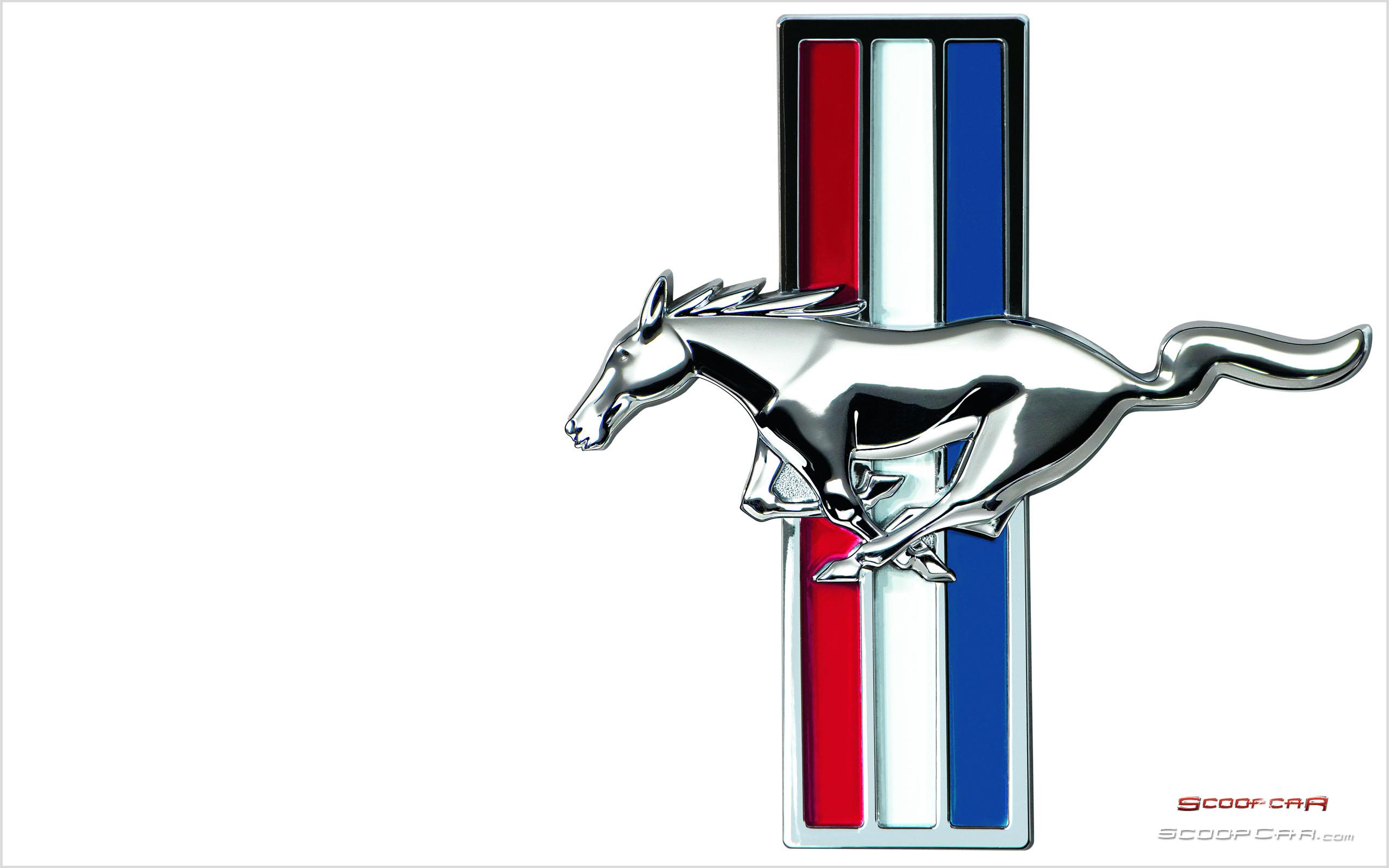 Mustang car logos