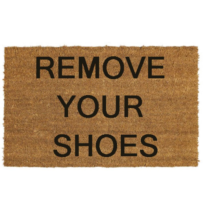 Leave Your Footwear Outside Logos