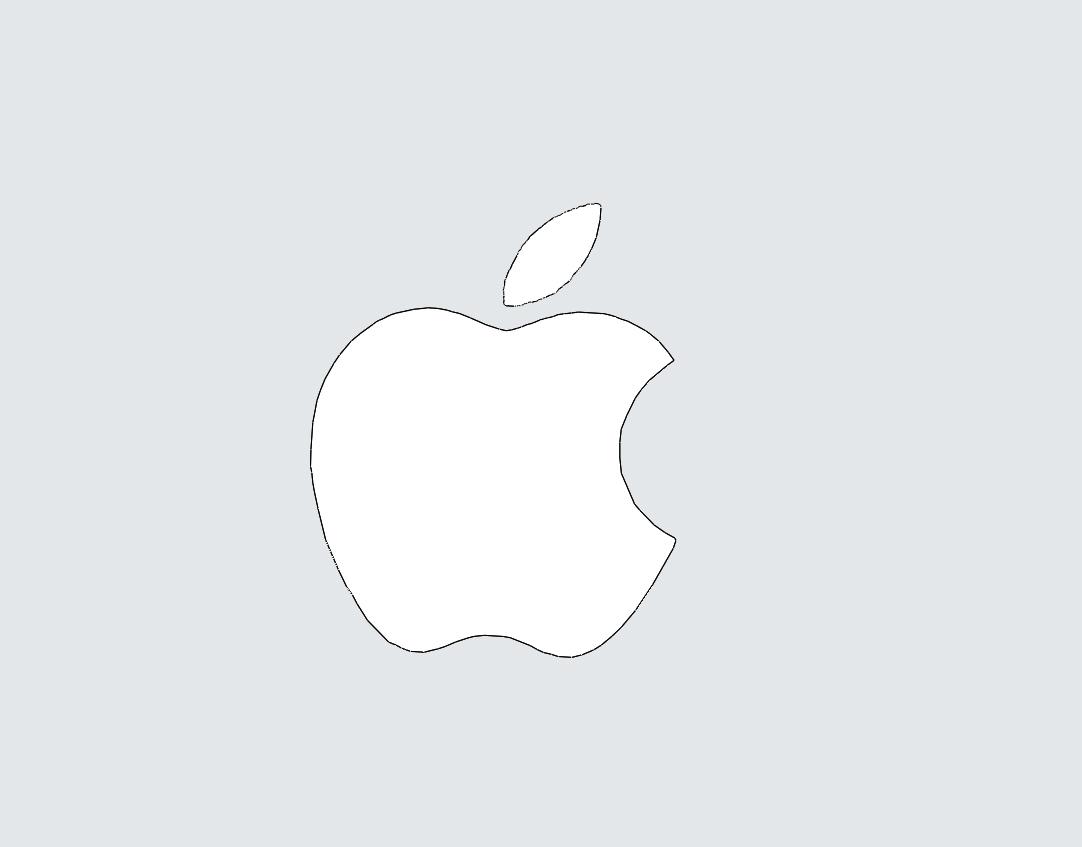Draw Apple Logos