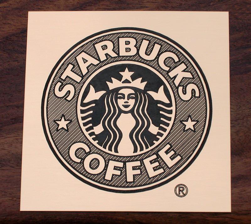 Custom Starbucks Logos