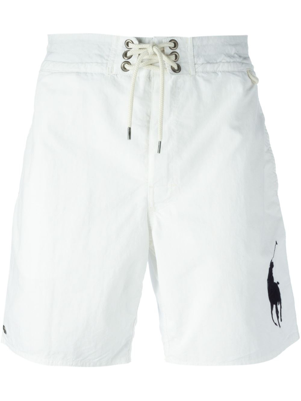 Polo Shorts With Logos