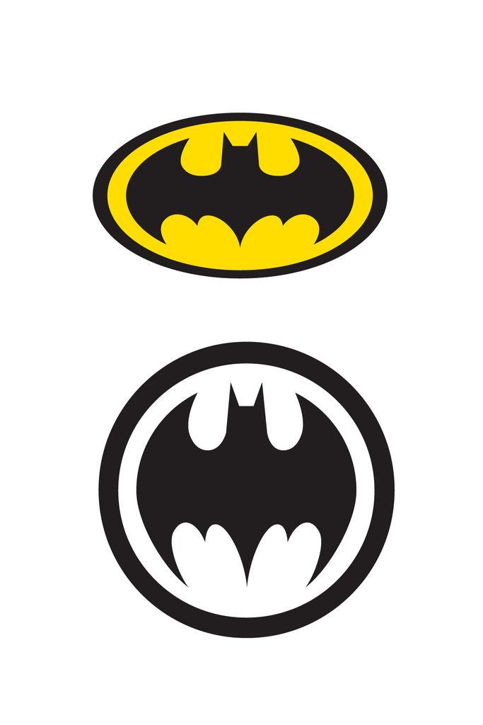 Small Batman Logos