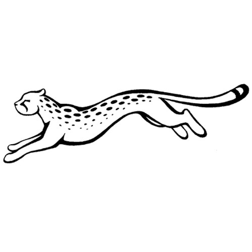 20+ Cheetah Logo Black And White
