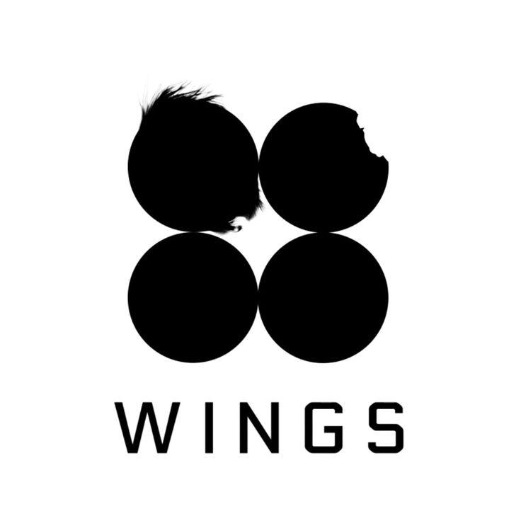 bts wings logos