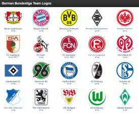 bundesliga team logos bundesliga team logos