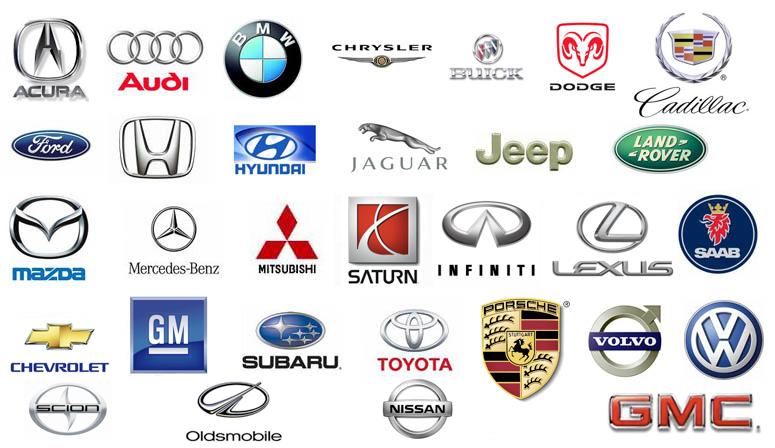Circle Car Logos