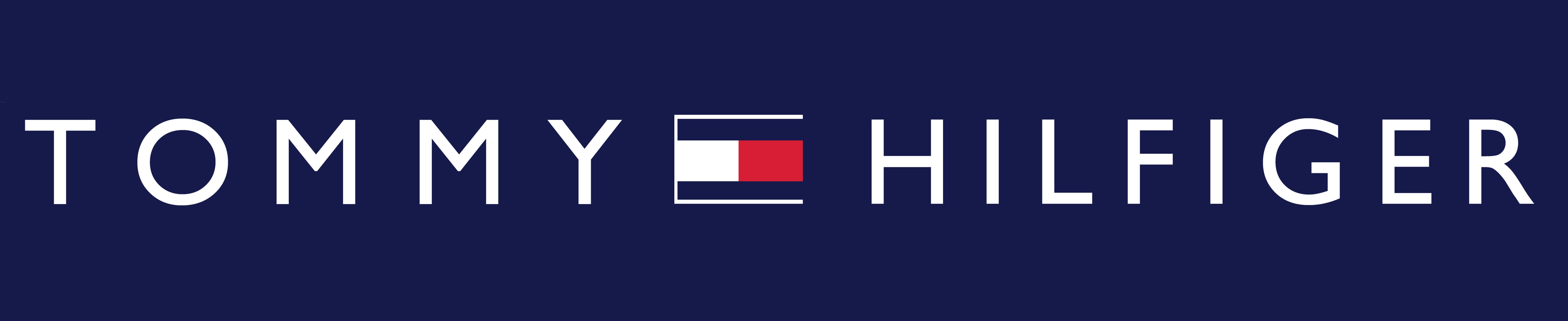 tommy hilfiger logo white