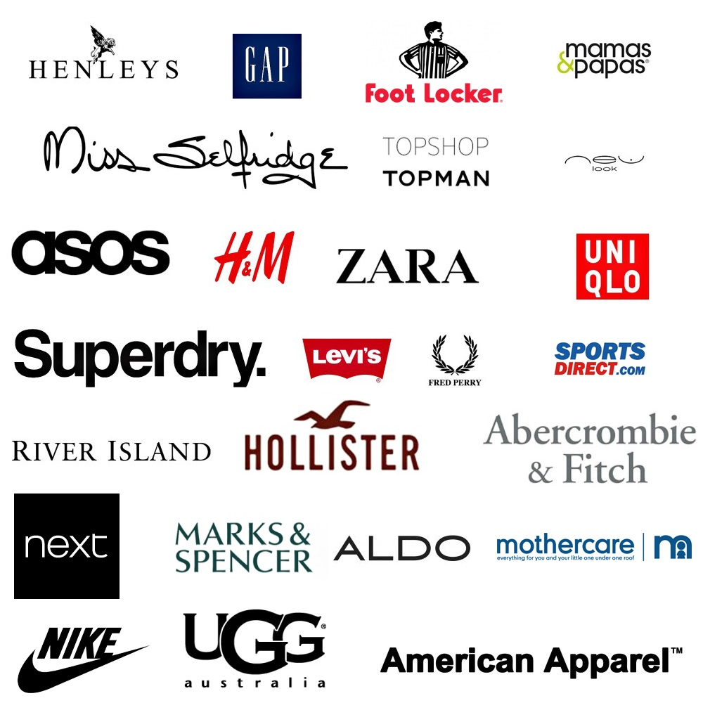 High street fashion retailers 87