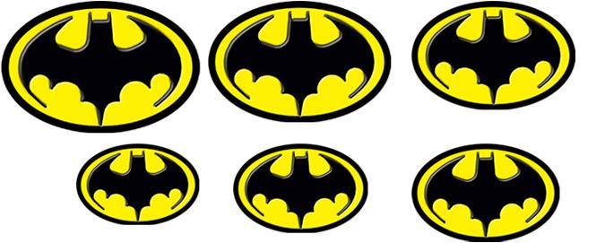 Tiny Batman Logos