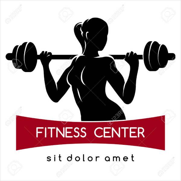 fitness logos premium templates