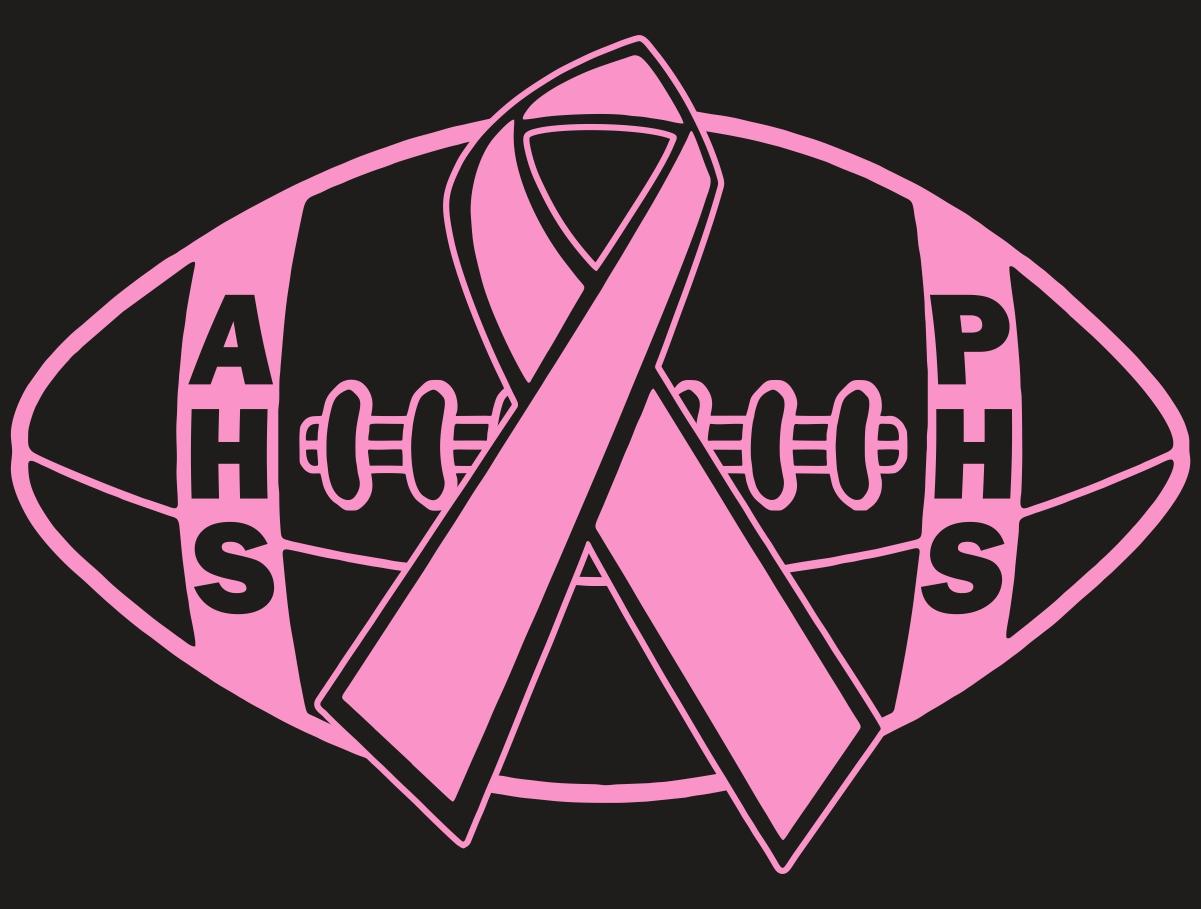 Breast Cancer Football Logos