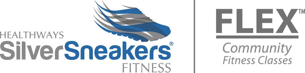 Silver sneakers Logos