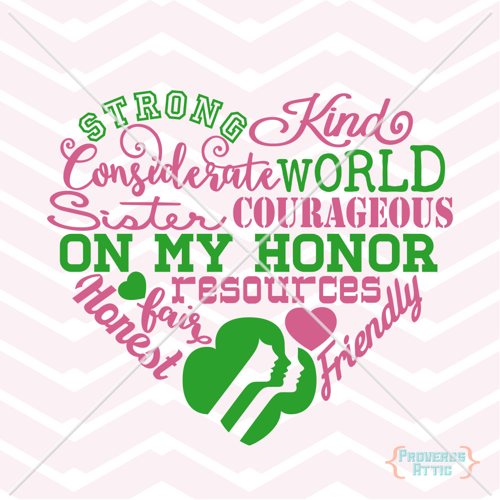 Girl scout brownie Logos