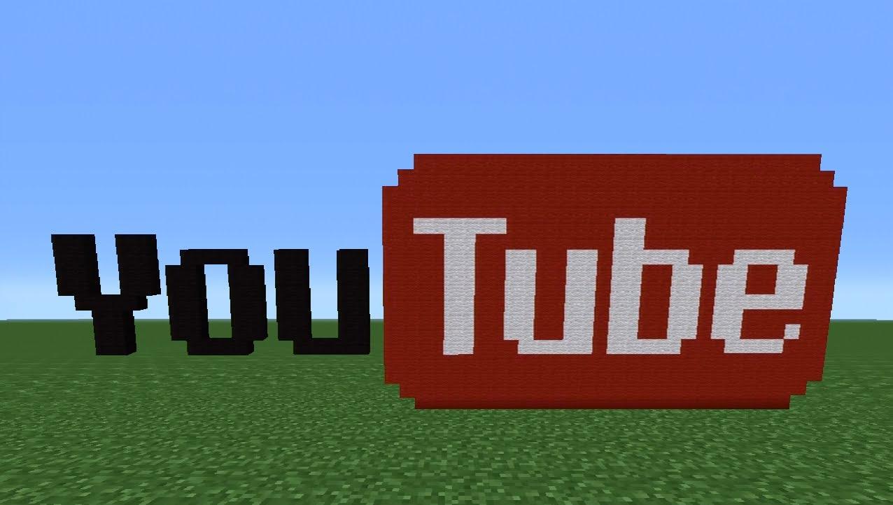 Minecraft Youtube Logos