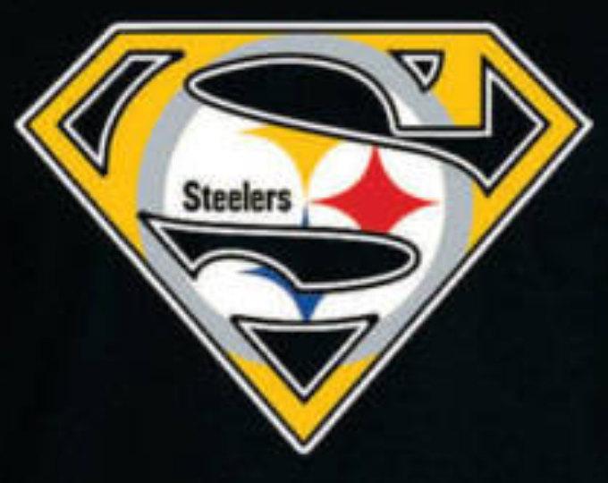 Steelers Superman Logos