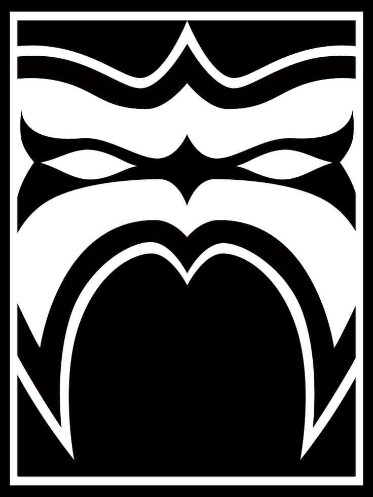 ultimate warrior face paint logos