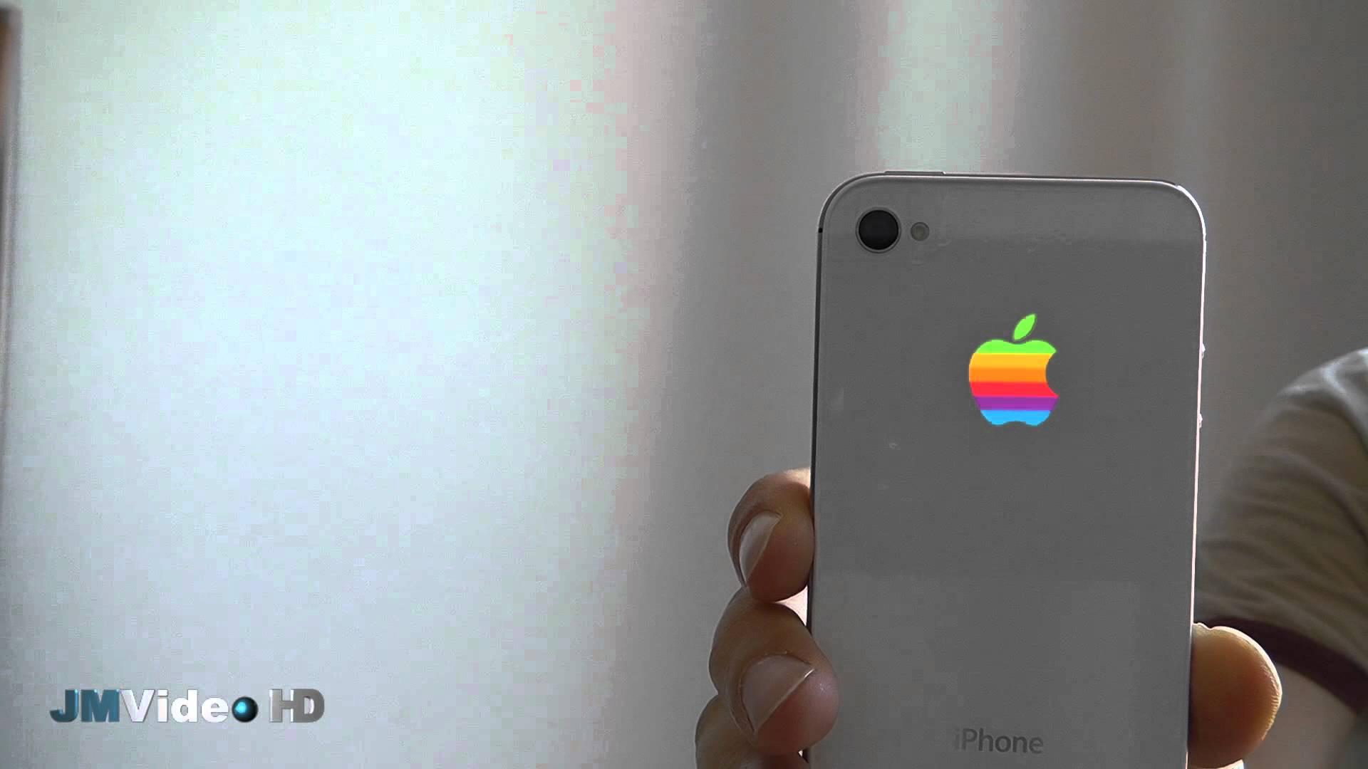 online retailer e1411 e25ab Iphone glowing apple Logos
