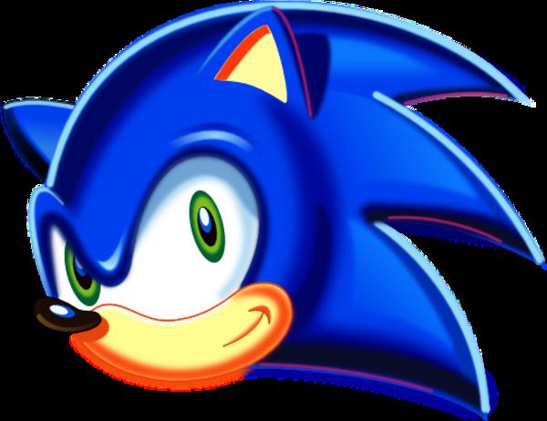 Sonic The Hedgehog Head Logos