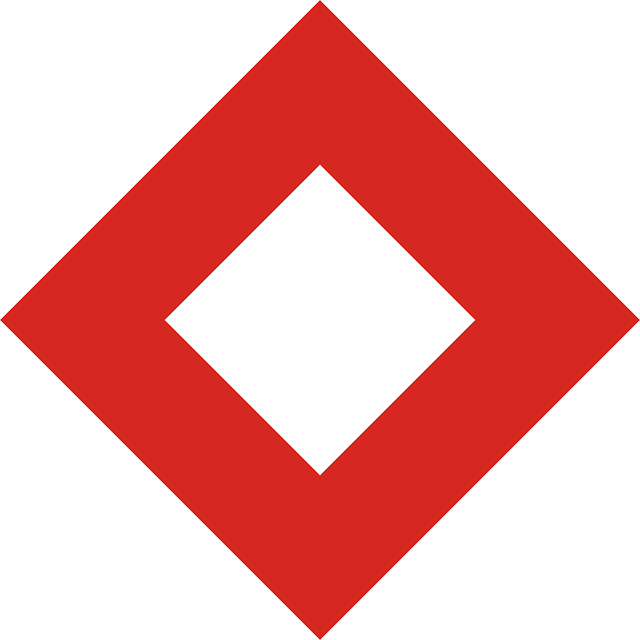 Red diamond Logos