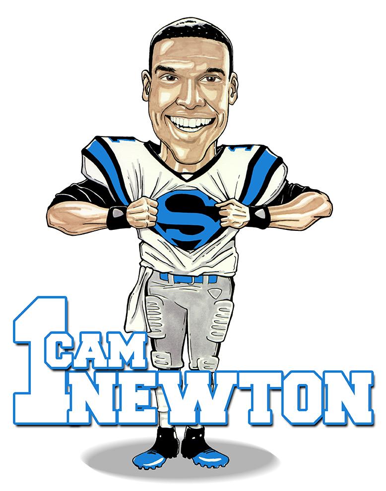 Cam newton Logos