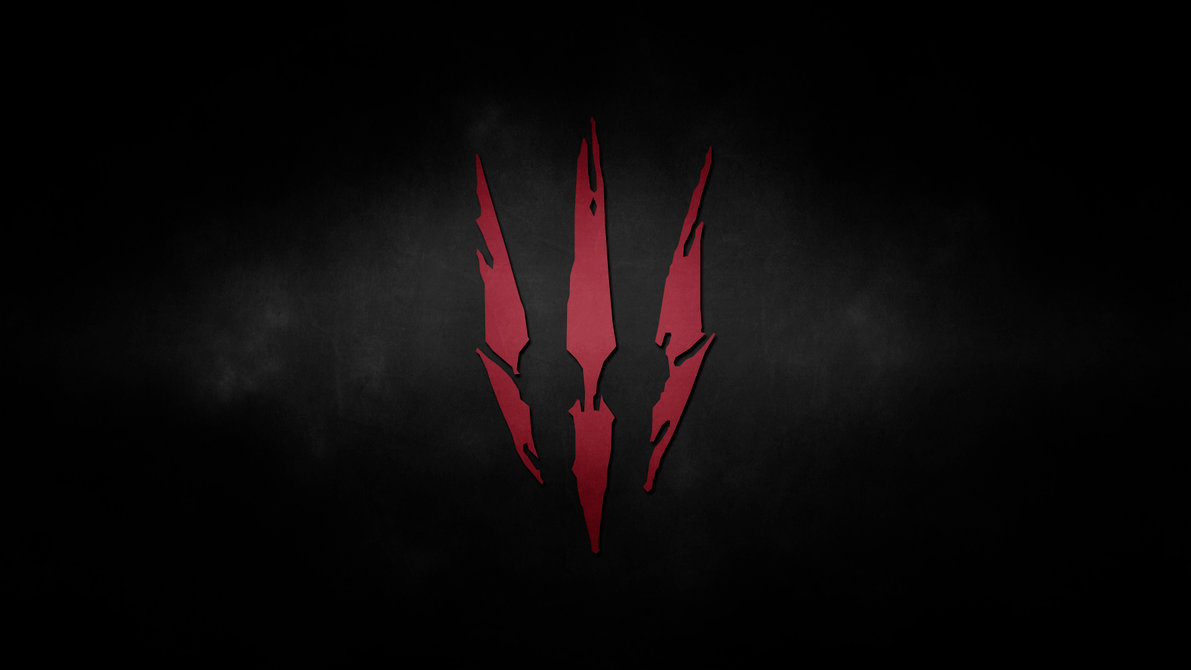 The Witcher 3 Logo Wolf Hd Wallpaper Wallpapers Beautiful