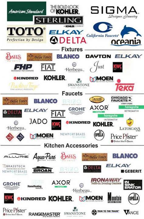 Faucet Brand Logos