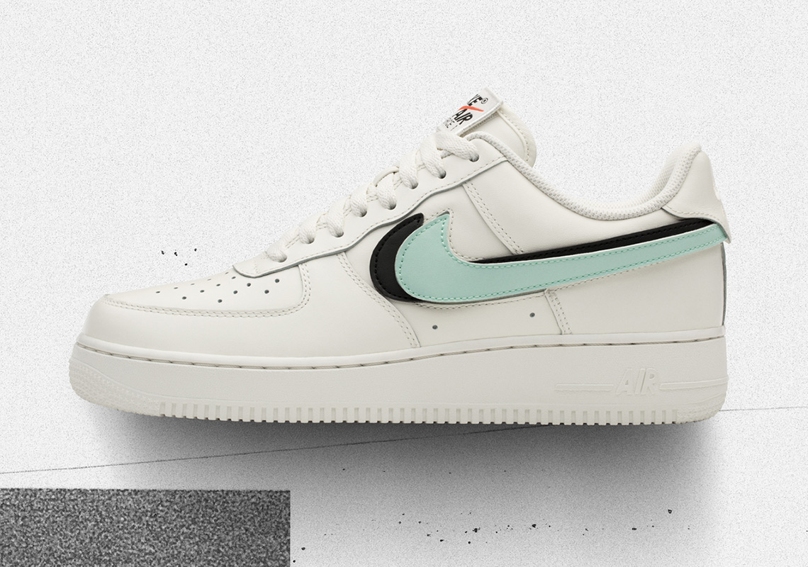 175909f1cbc Nike Air Force 1 Replaceable Swoosh Pack AH8462