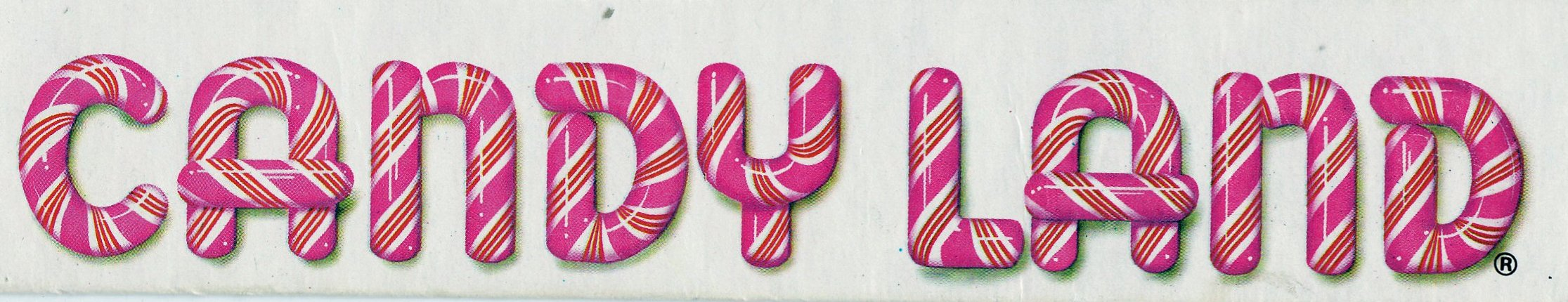 graphic about Candyland Letters Printable titled Candyland Trademarks