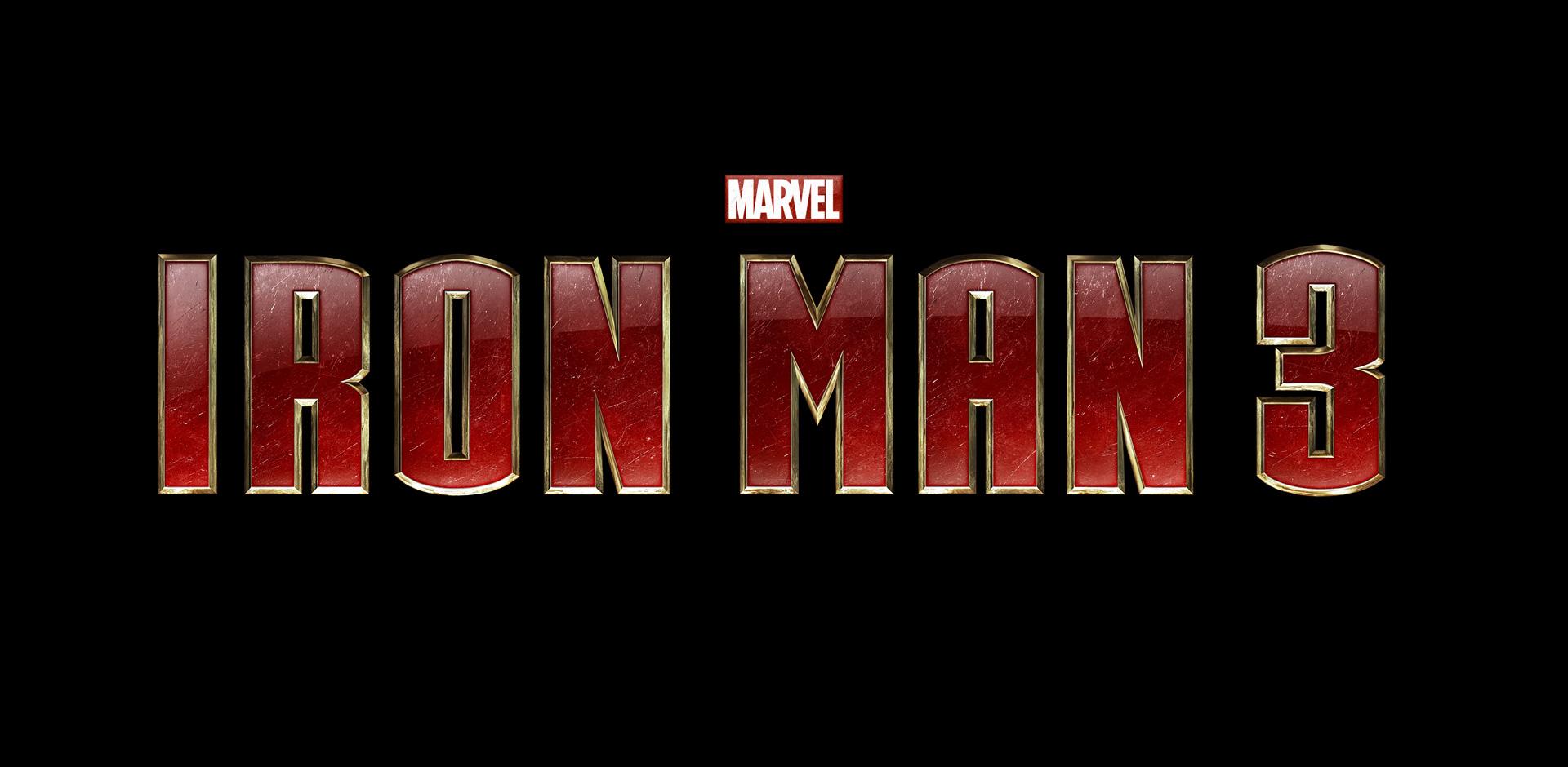 Marvel Iron Man Logos