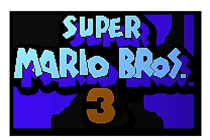 Super Mario Bros Logos